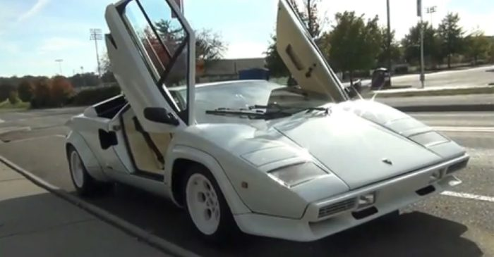 1981 Lamborghini Countach, Ferrari 308 Among Sports Cars Uncovered After Years in Storage