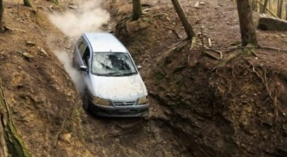 mitsubishi space star off roading