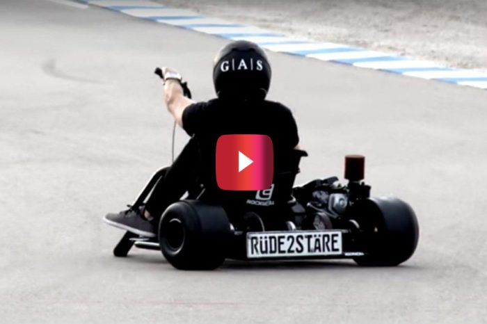 This Motorized Drift Trike Is a Menace on the Track
