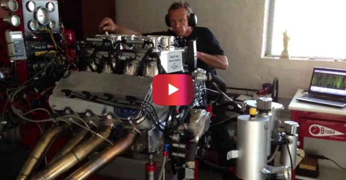 Beastly V8 Engine Churns out 1,600 Horsepower