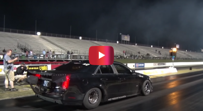 1700-hp cadillac world record
