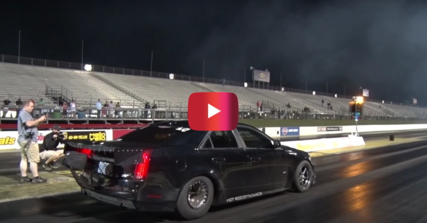 1,700-HP Cadillac CTS-V Shatters World Record