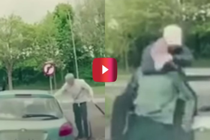 Driver Beats Up 2 Road Rage Attackers With Ease