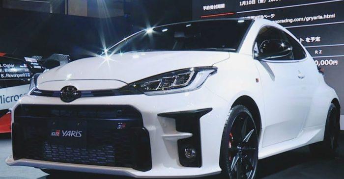 Toyota GR Yaris Has World's Most Powerful Three-Cylinder Engine