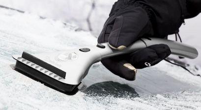heated ice scraper