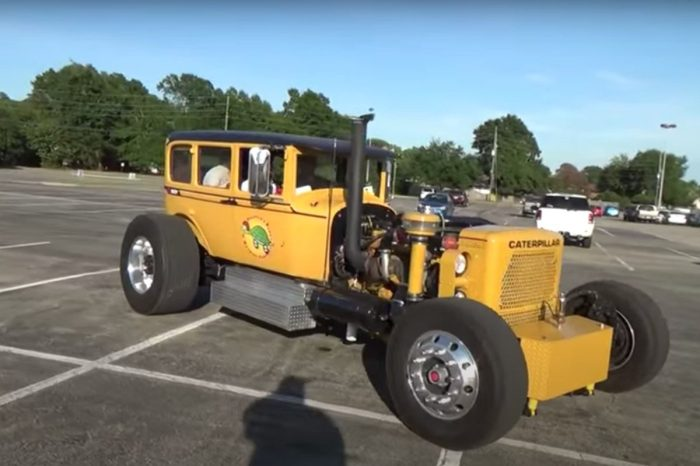 This 450-HP Caterpillar Hot Rod Is a Custom Masterpiece