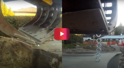 excavator stacking nuts