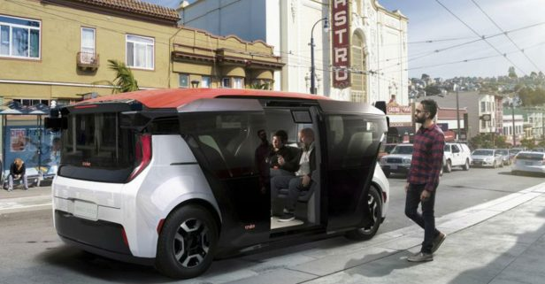 GM's Self-Driving Car Company Unveils New Robot Taxi