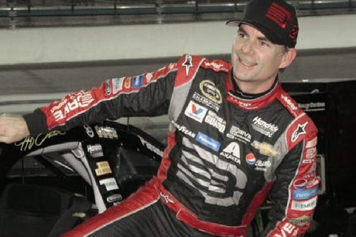 Jeff Gordon Impressed His Fans With This 23-Foot Cliff Jump