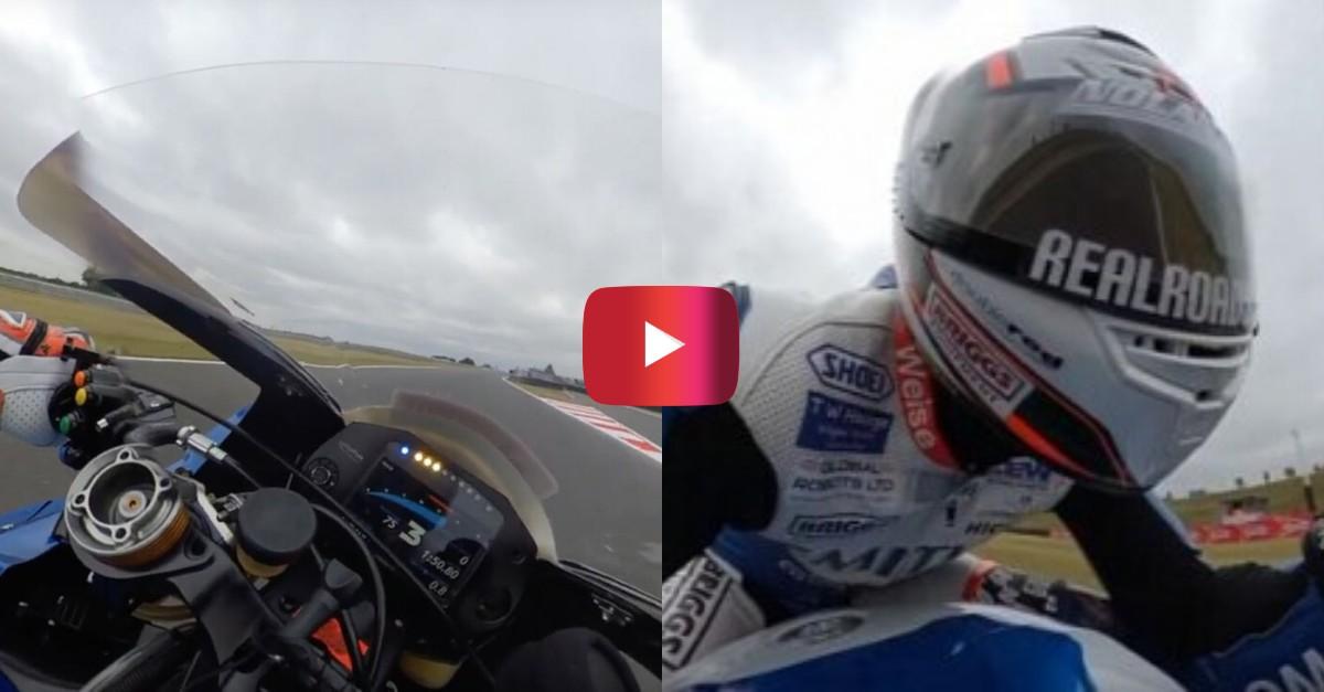360-degree motorcycle racing