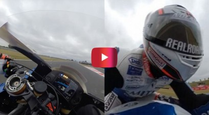 360-degree motorcycle racing