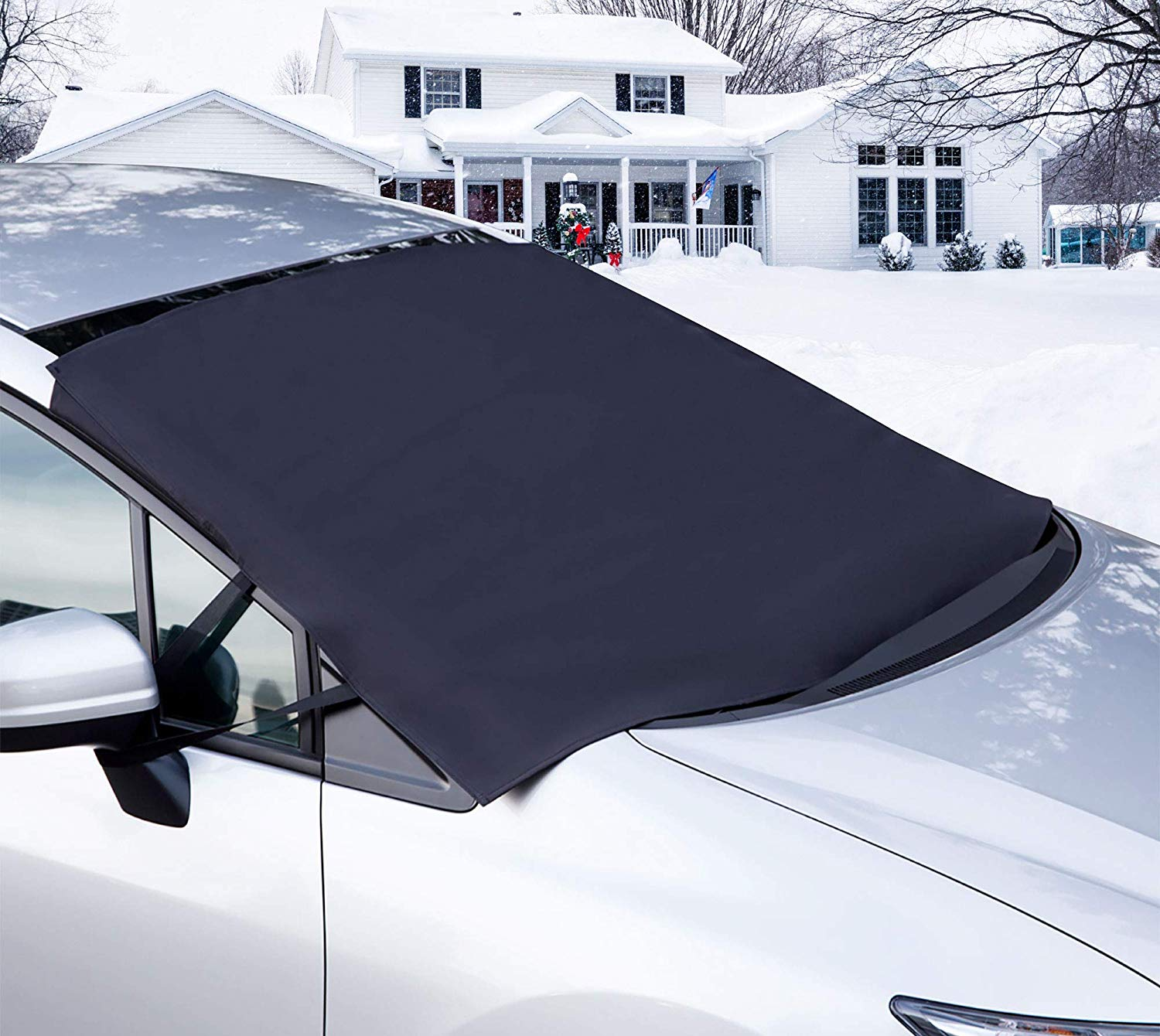 car windshield cover for snow
