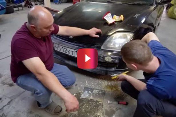 Can You Actually Fix a Car Bumper With Ramen Noodles?