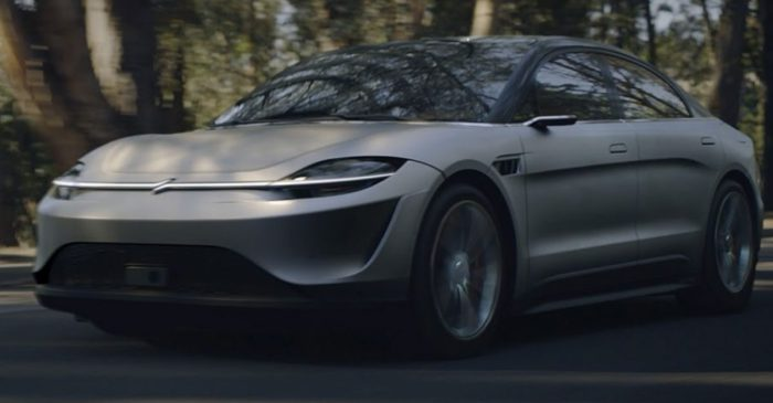 Sony Stuns With All-Electric Concept Car Unveiling at Tech Show