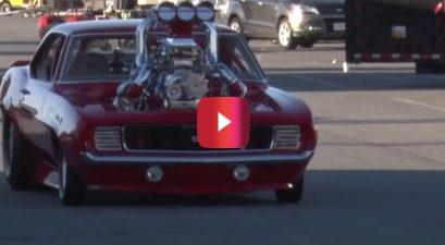 turbocharged '69 camaro ss