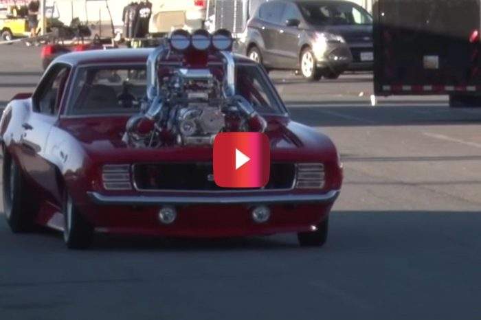Turbocharged '69 Camaro SS Is a Mean, Mean Ride