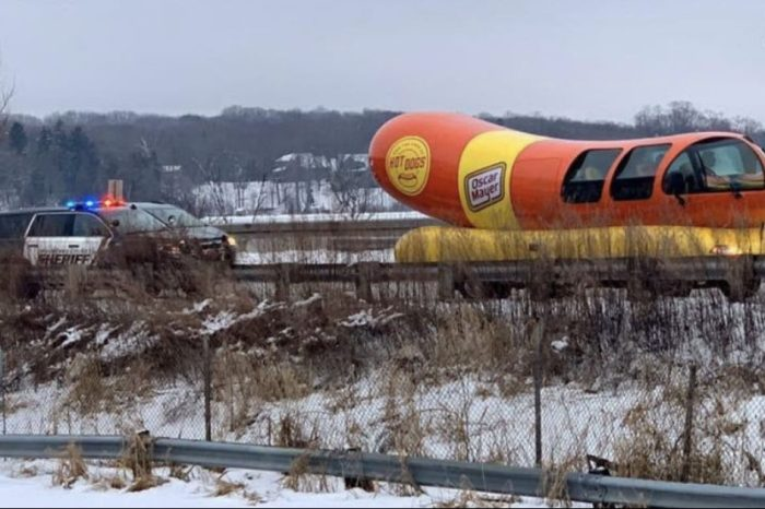 Oscar Mayer Wienermobile Pulled Over in Wisconsin for Hogging Road