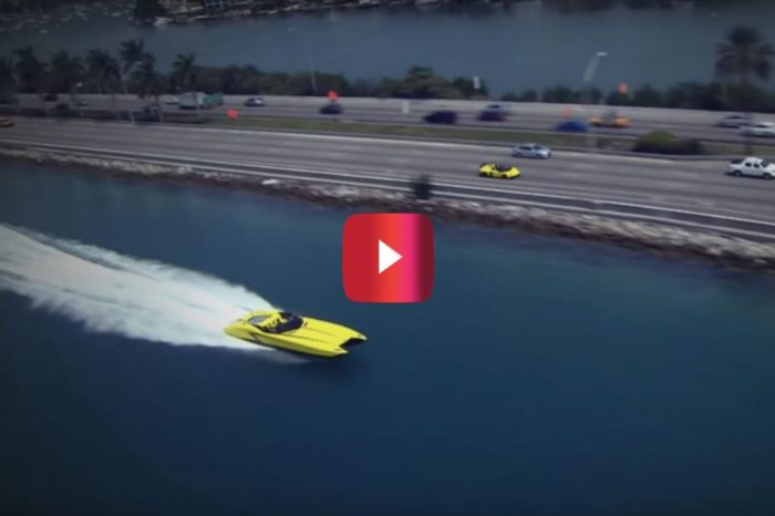 $1.3M Lamborghini Boat Has a Top Speed of 190 MPH