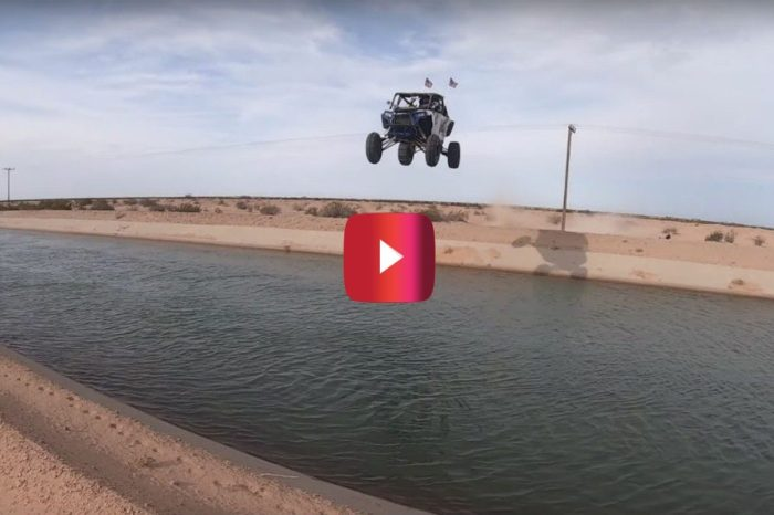 Kid Off-Roader Makes History With Wild Canal Jump