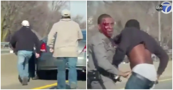 "Law-Abiding Citizens Help State Trooper in Highway Arrest ""Like a Movie"""
