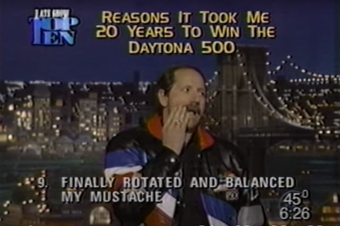 "Dale Earnhardt Hilariously Pokes Fun at Himself on ""The Late Show"""
