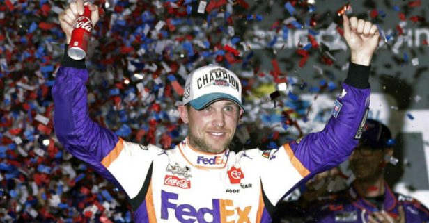 Denny Hamlin Wins 2nd Straight Daytona 500, Ryan Newman Hospitalized