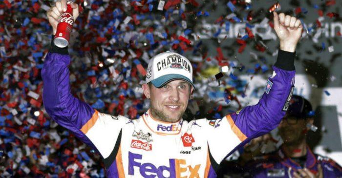 Denny Hamlin Wins 2nd Straight Daytona 500, Ryan Newman Hospitalized