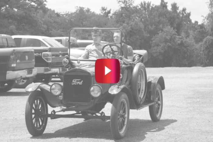 Car Reviewers Show How Hard It Really Is to Drive the Ford Model T