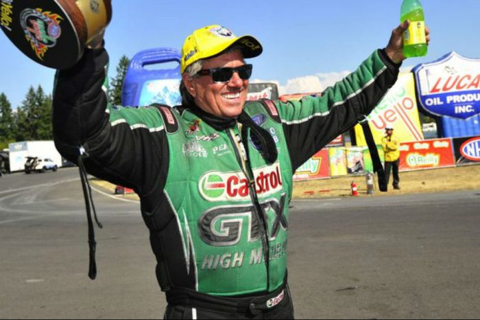 "70-Year-Old Drag Racer John Force: ""When I Get in My Race Car, It Doesn't Know How Old I Am"""