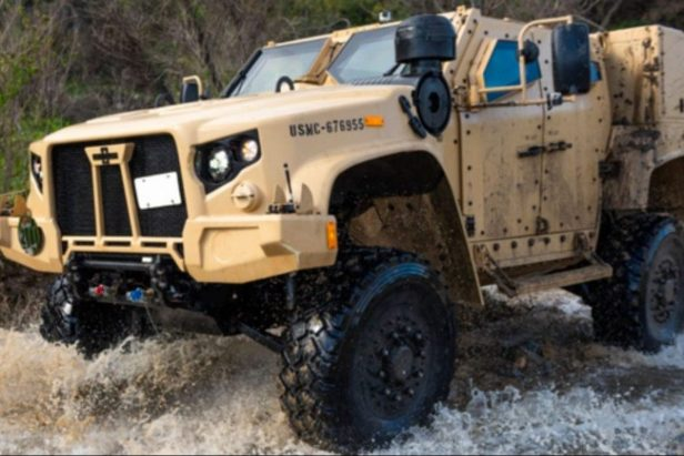 The U.S. Military Replaced the Humvee With This Off-Roading Juggernaut