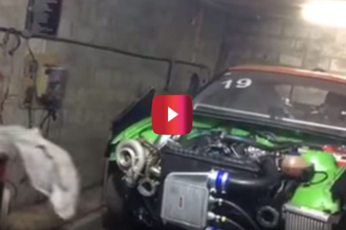 Rag Gets Sucked Into Turbo During Dyno Test