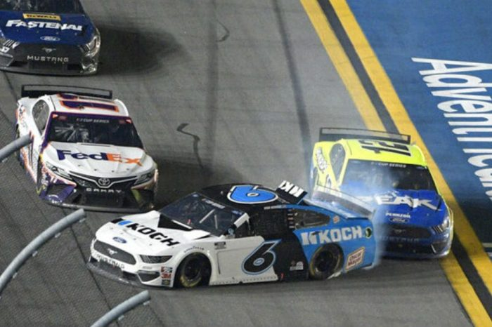 The Attempted Push That Led to Ryan Newman's Violent Crash