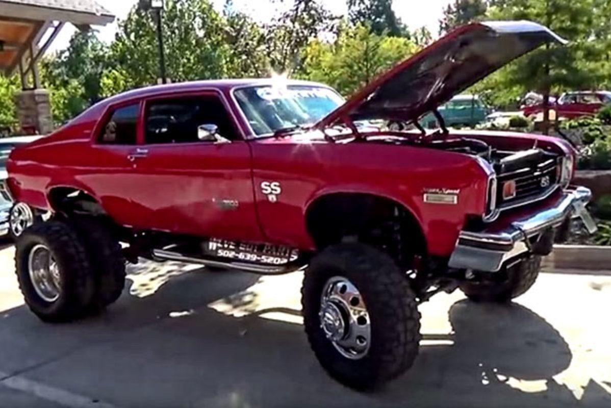 1974 chevy nova ss diesel dually