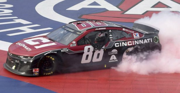 Alex Bowman May Be Getting a Neck Tattoo After Auto Club Win