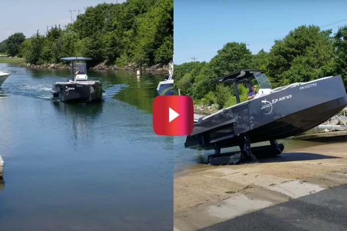 No Trailer, No Problem: This Boat Can Drive on Land