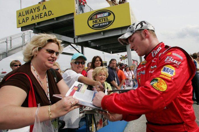 NASCAR Fan Gets Dale Earnhardt Jr. Autograph ― 18 Years After Asking for It