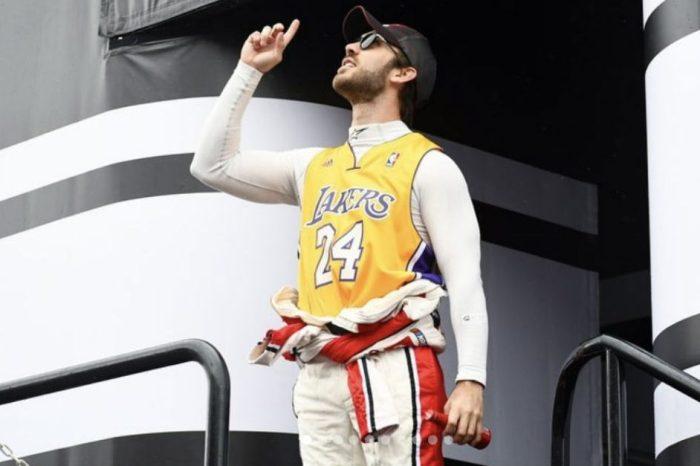 NASCAR Driver Daniel Suarez Auctions Kobe Bryant Gear for Charity