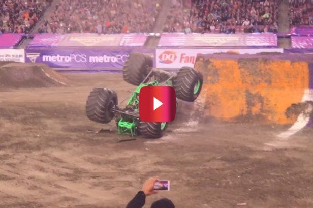 Grave Digger's Infamous Backflip Crash Is a Wild Monster Jam Moment