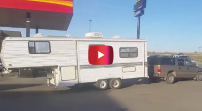 fifth wheel camper towing fail