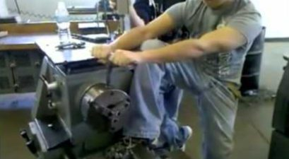 hydraulic lathe fail