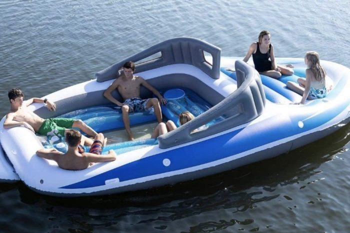 This 6-Person Inflatable Speed Boat Is Yours for Less Than $250