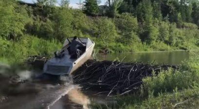 jet boat jump