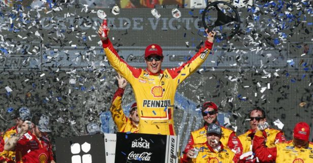 "Joey Logano Uses ""Awesome Sauce"" to His Advantage for Phoenix Win"
