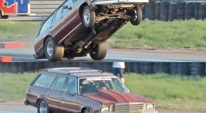 nitrous station wagon slams aparts