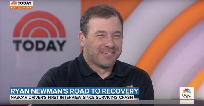 "Ryan Newman Talks Surviving Daytona 500 Crash in ""Today"" Show Interview"