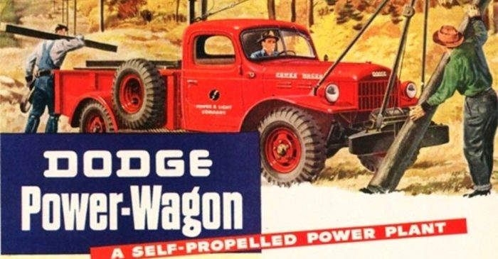 1946 Dodge Power Wagon Brought Four-Wheel Drive to the Masses
