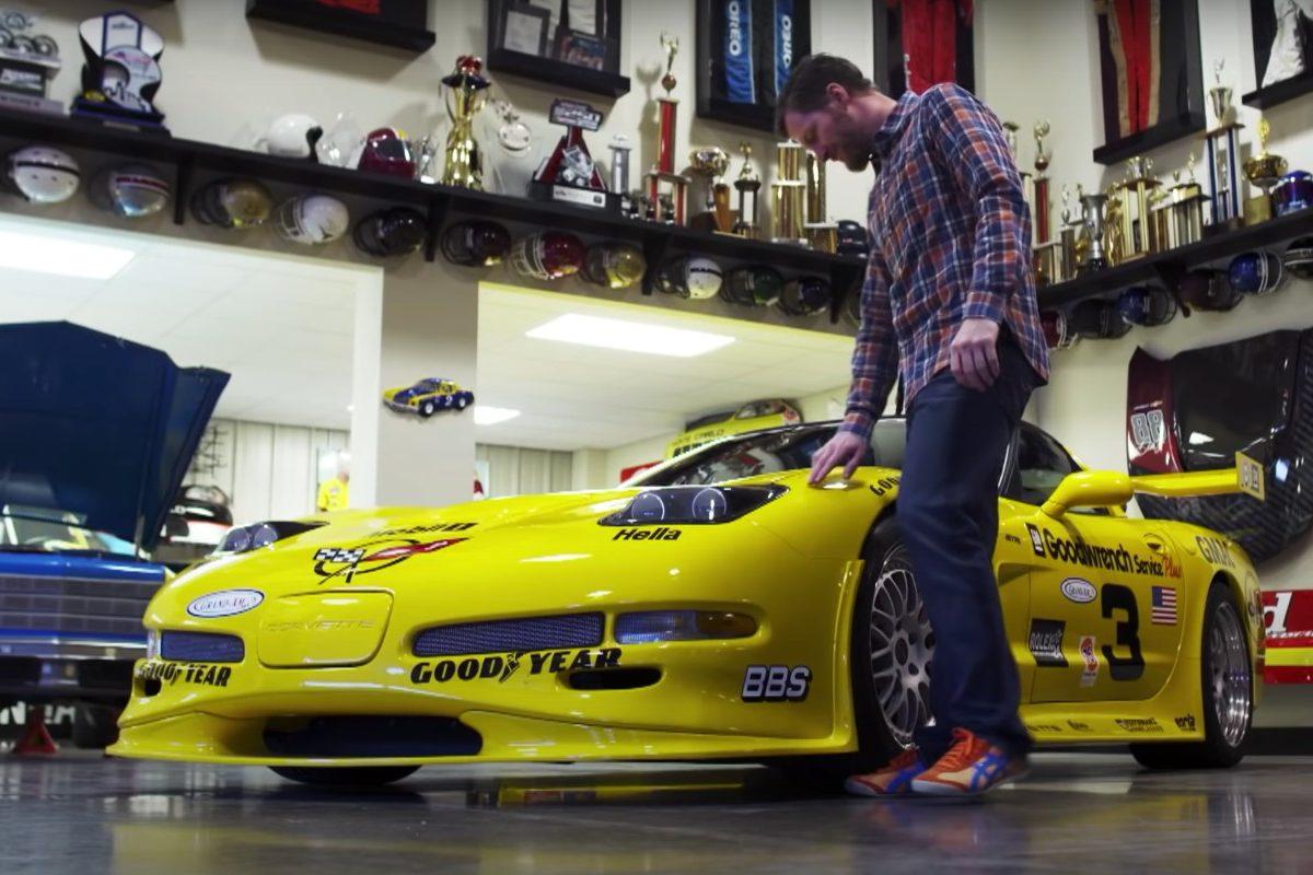 Dale Earnhardt's 24 Hours of Daytona Chevrolet Corvette