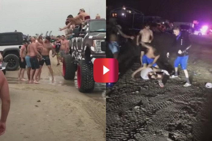 Texas Jeep Event Erupts Into Brawls on Beach