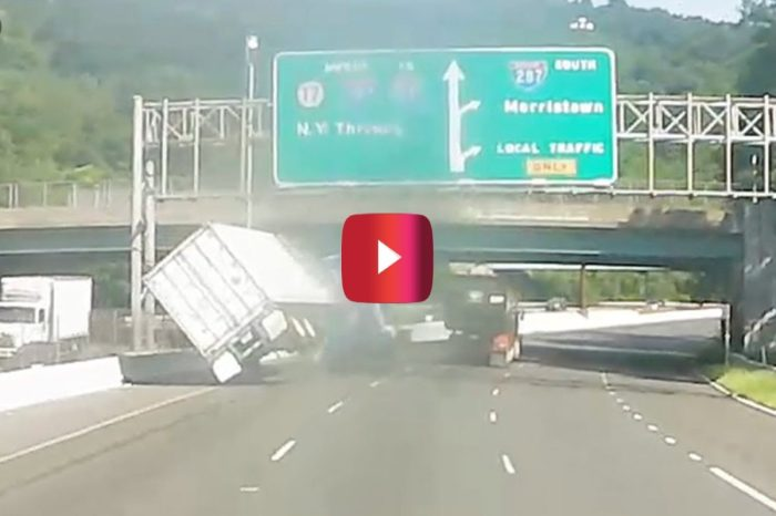 Tractor-Trailer vs. SUV Road Rage Ends in Wild Wreck