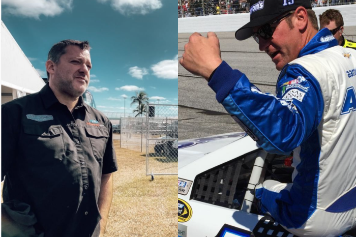 "Tony Stewart to Clint Bowyer After Fight: ""Men Take Their Helmets Off"""